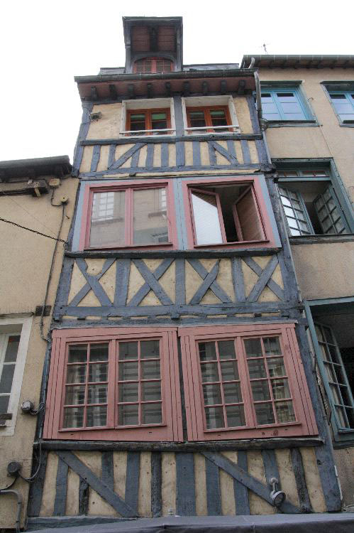 18 rue Saint-Georges [Rennes - 35238] : Façade nord